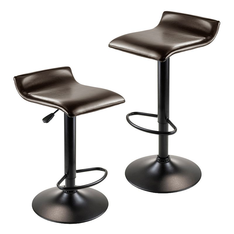 Winsome Paris 2-pc. Airlift Swivel Stool Set