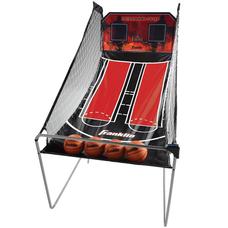 Franklin Sports Double Shot Rebound Pro Basketball Game, Multicolor thumbnail