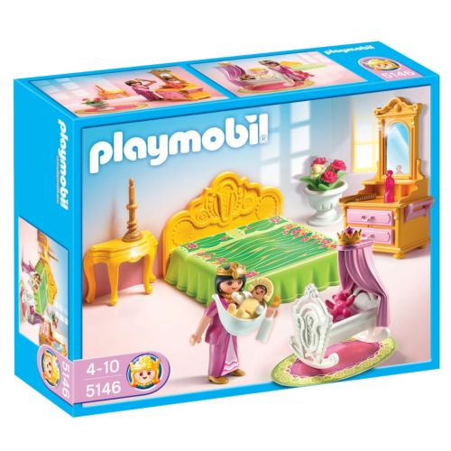 Playmobil Royal Bed Chamber with Cradle - 5146