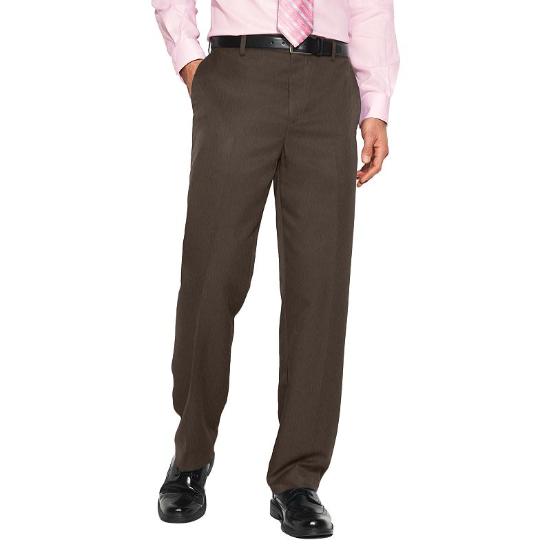 Croft & Barrow® Classic-Fit Flat-Front No Iron Microfiber Dress Pants - Men