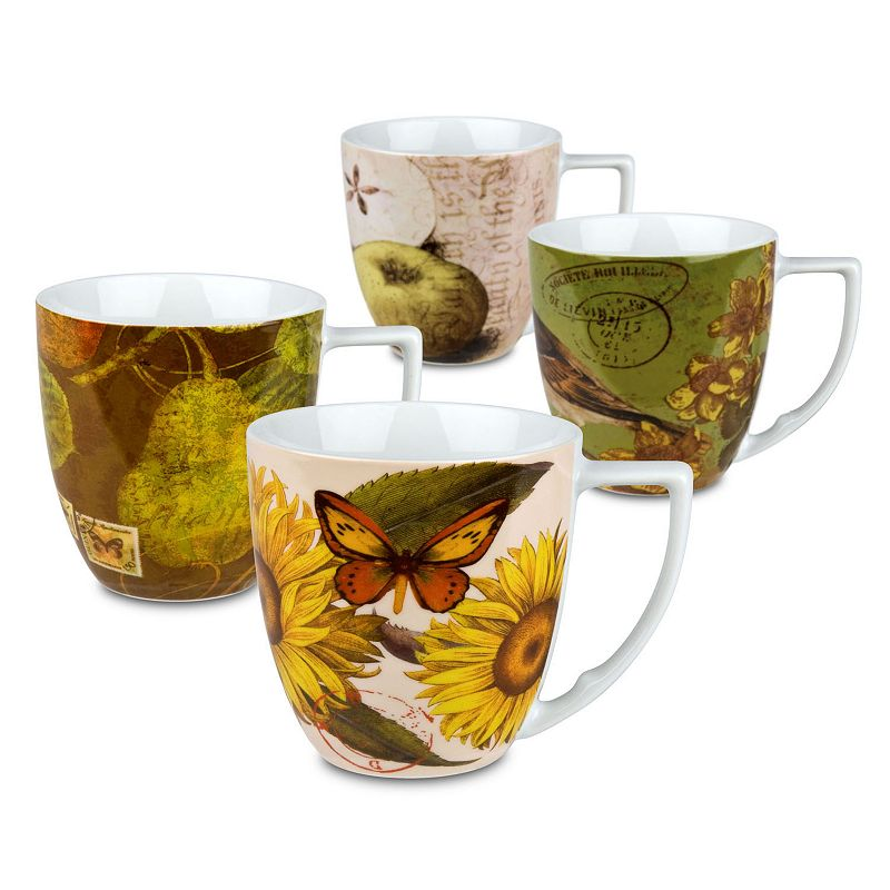 Waechtersbach Nature 4-pc. Assorted Mug Set