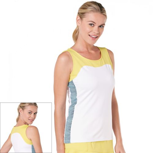 Tail Gina Colorblock Tennis Tank