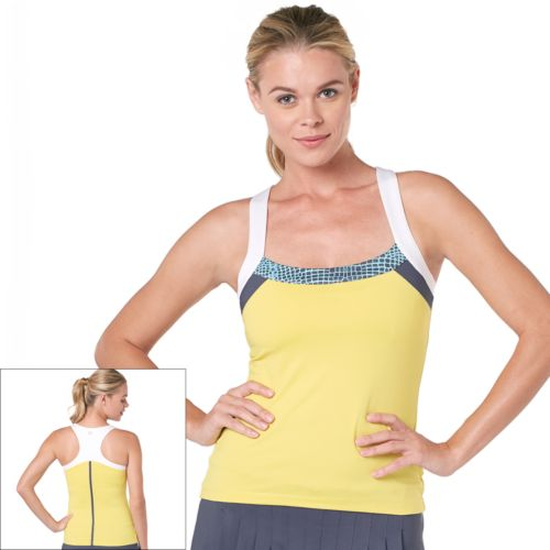 Tail Shelby Colorblock Racerback Tennis Tank
