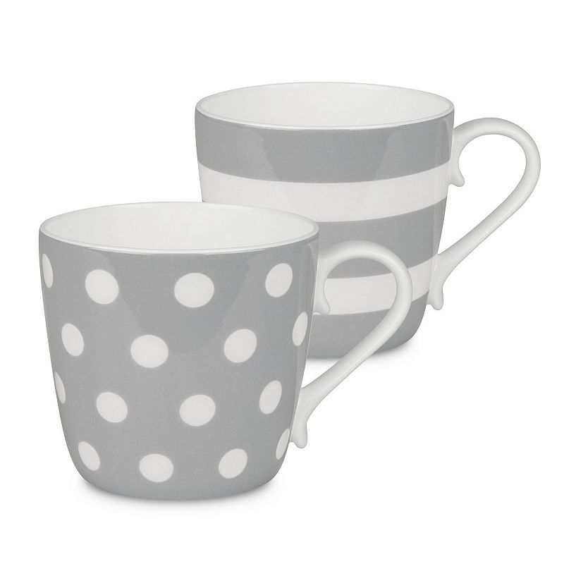 Konitz Dots and Stripes 2-pc. Mug Set