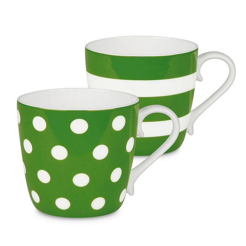 Konitz Dots and Stripes 2-pc. Mug Set