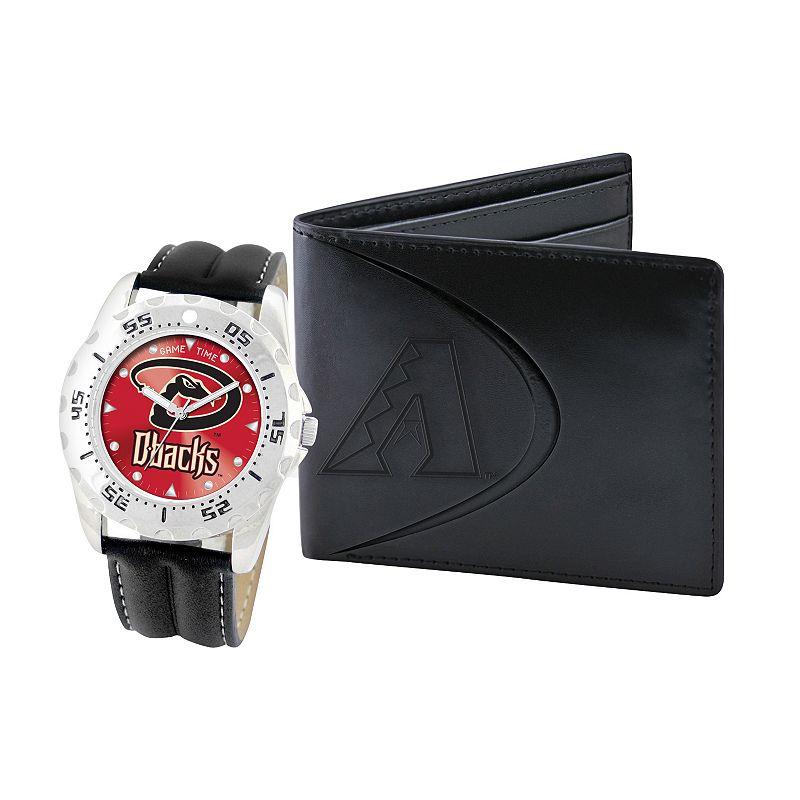 Arizona Diamondbacks Watch and Bifold Wallet Gift Set