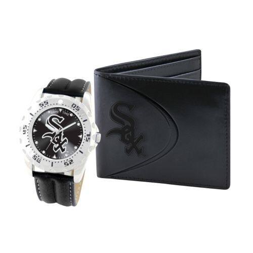 Chicago White Sox Watch and Bifold Wallet Gift Set
