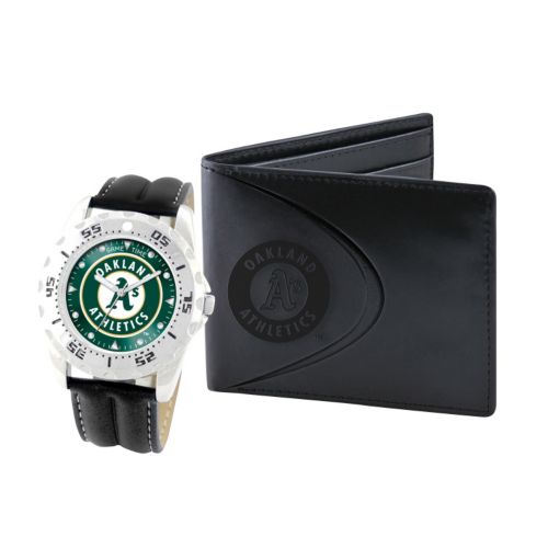 Oakland Athletics Watch and Bifold Wallet Gift Set