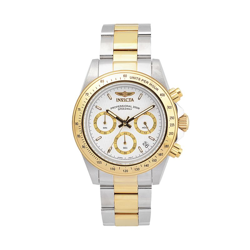 Invicta Men's Speedway Two Tone Stainless Steel Chronograph Watch - K-IN-9212