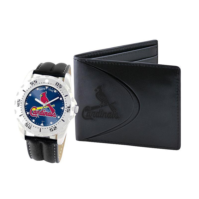 St. Louis Cardinals Watch and Bifold Wallet Gift Set