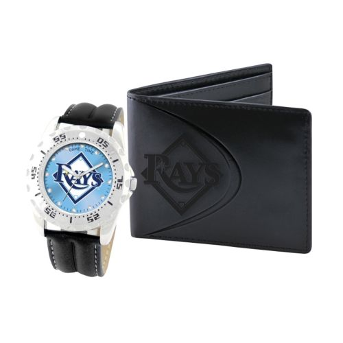 Tampa Bay Rays Watch and Bifold Wallet Gift Set