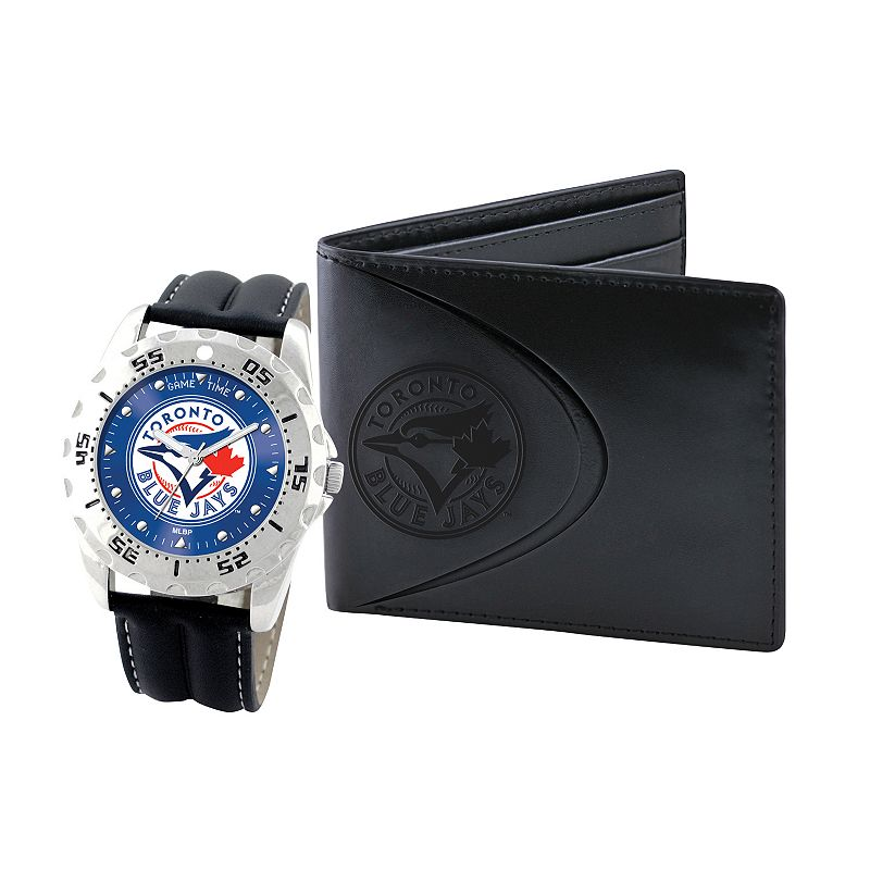 Toronto Blue Jays Watch and Bifold Wallet Gift Set