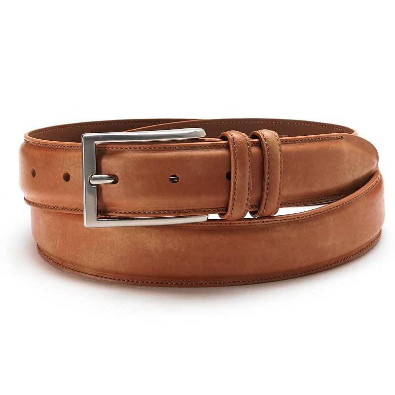 Croft & Barrow® Stitched Dress Belt - Men