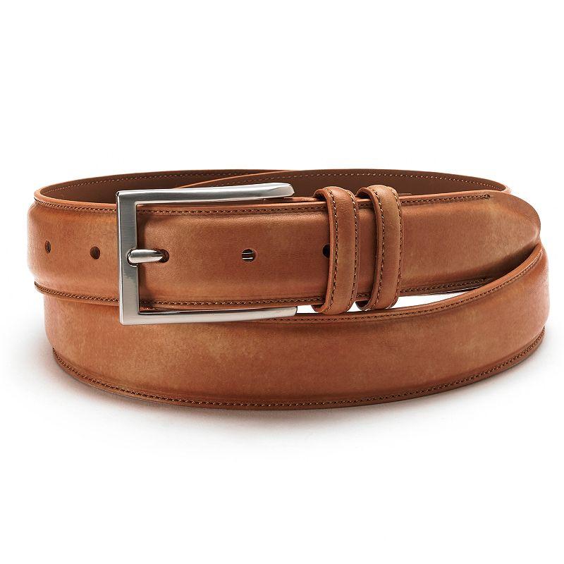 Croft & Barrow® Stitched Dress Belt - Extended Size