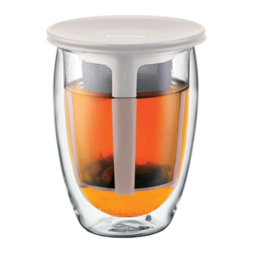 Bodum Tea For One 12-oz. Glass Tea Strainer