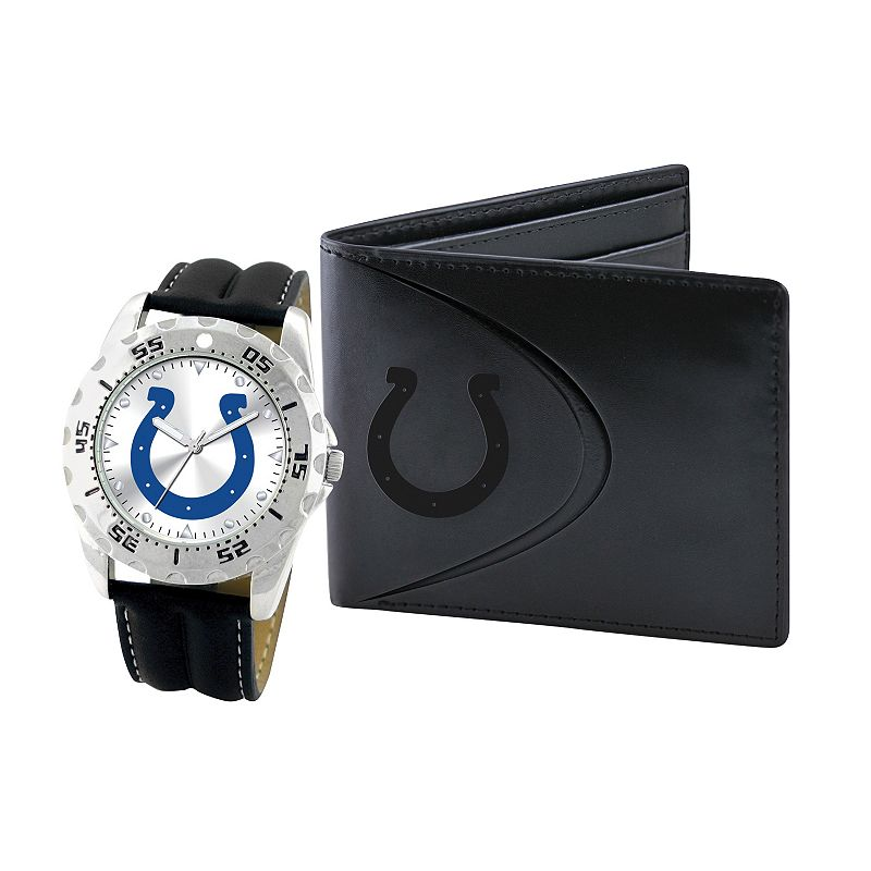 Indianapolis Colts Watch and Bifold Wallet Gift Set