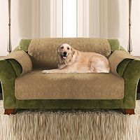 Yes Pets Quilted Furniture Protector Loveseat Pet Cover