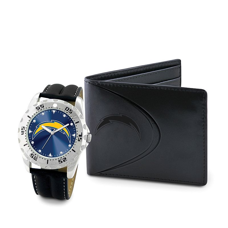 San DiegoChargers Watch and Bifold Wallet Gift Set