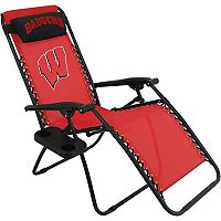 College Covers Wisconsin Badgers Zero Gravity Chair
