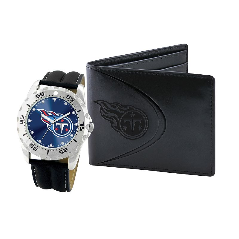 Tennessee Titans Watch and Bifold Wallet Gift Set