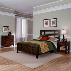 Cabin Creek 5-pc. King Headboard, Footboard, Bed Frame, 4-Drawer Dresser and Nightstand Set by