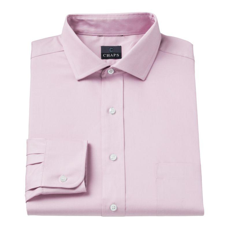Men's Chaps Classic-Fit No-Iron Dress Shirt | DealTrend