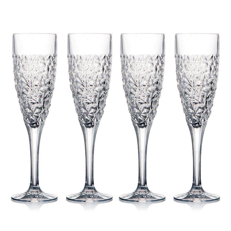 Celebration Crystal Ice Cold 4-pc. Champagne Glass Set
