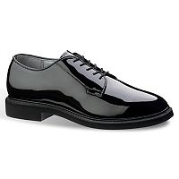 Bates Lites High Gloss Men's Oxford Work Shoes