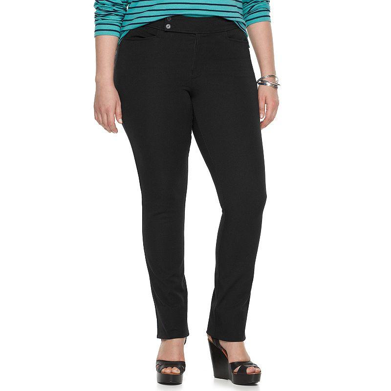 Plus Size Chaps Dress Pants
