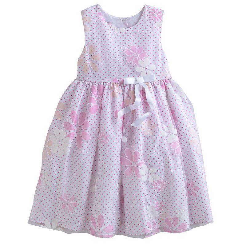 Marmellata Classics Floral Dot Dress - Baby