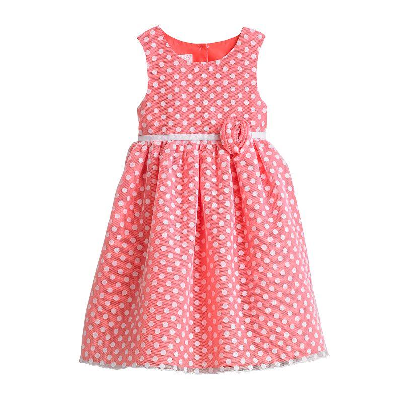 Marmellata Classics Polka-Dot Dress - Toddler