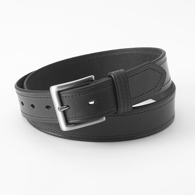 Dockers® Double-Stitched Leather Belt - Men