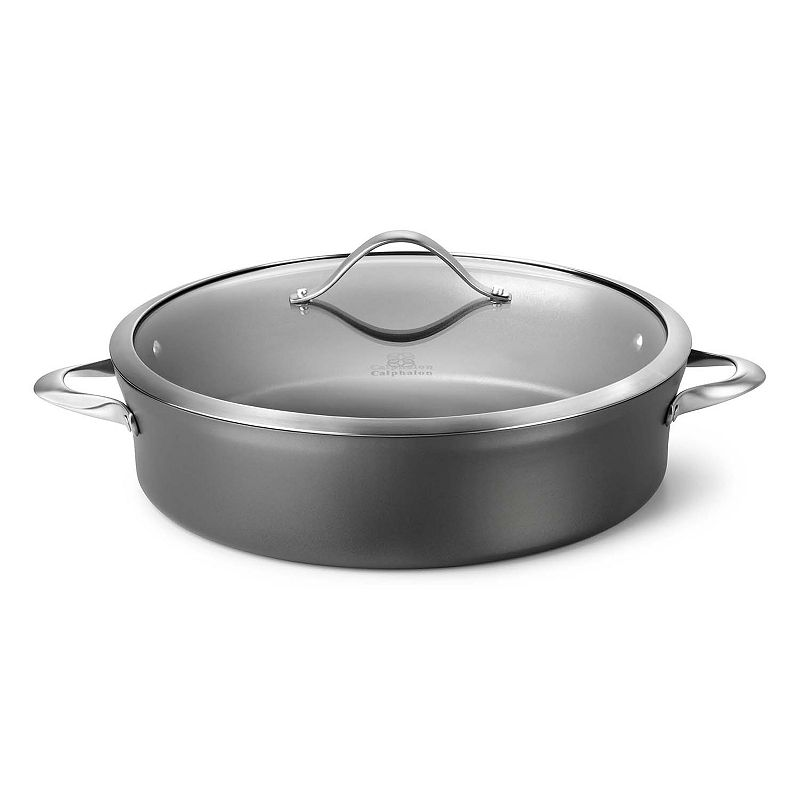 Calphalon Contemporary Nonstick 7-qt. Hard-Anodized Covered Sauteuse