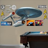 Fathead Star Trek U.S.S. Enterprise NCC-1701 Wall Decals
