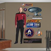 Fathead Star Trek Captain Jean-Luc Picard Wall Decals