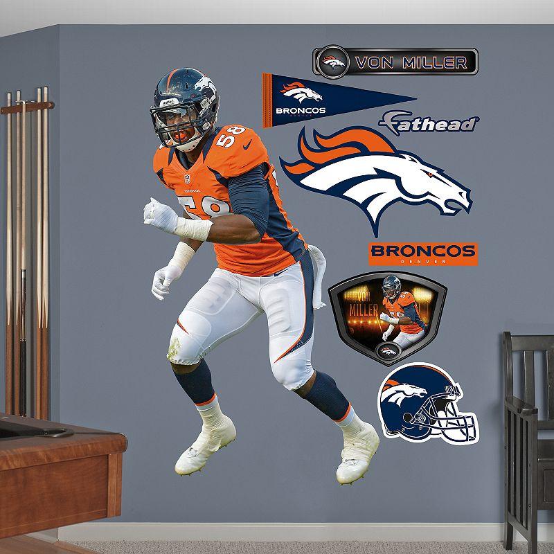 Fathead Denver Broncos Von Miller Wall Decals