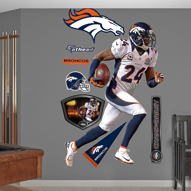 Fathead Denver Broncos Champ Bailey Wall Decals