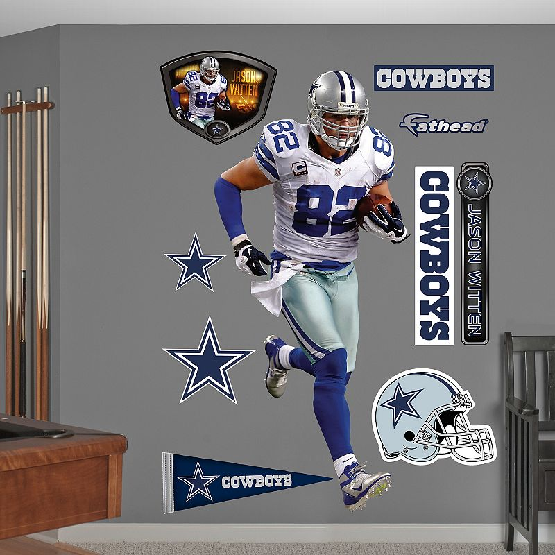 Dallas cowboys wall decor kohl 39 s for Cowboy wall mural