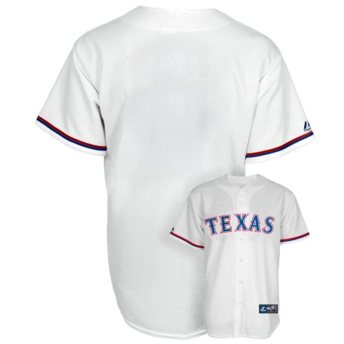 Boys 8-20 Majestic Texas Rangers Replica MLB Jersey