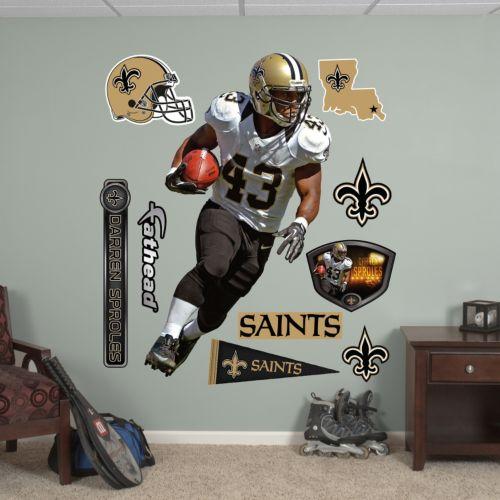 Fathead New Orleans Saints Darren Sproles Wall Decals