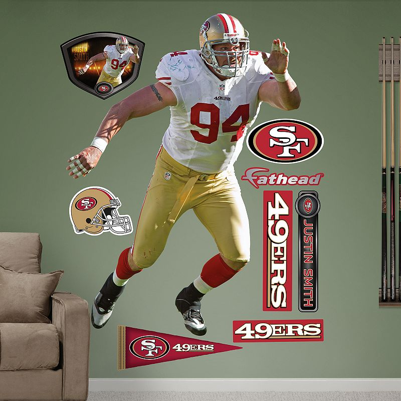 Fathead San Francisco 49ers Justin Smith Wall Decals