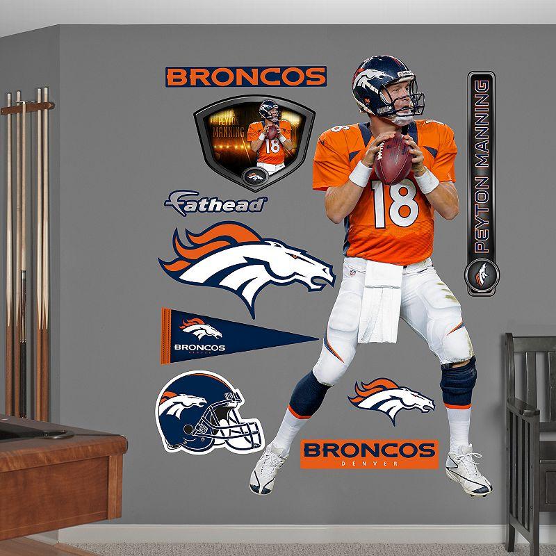Fathead Denver Broncos Peyton Manning Wall Decals