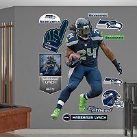 Fathead Seattle Seahawks Marshawn Lynch 11-Piece Wall Decals