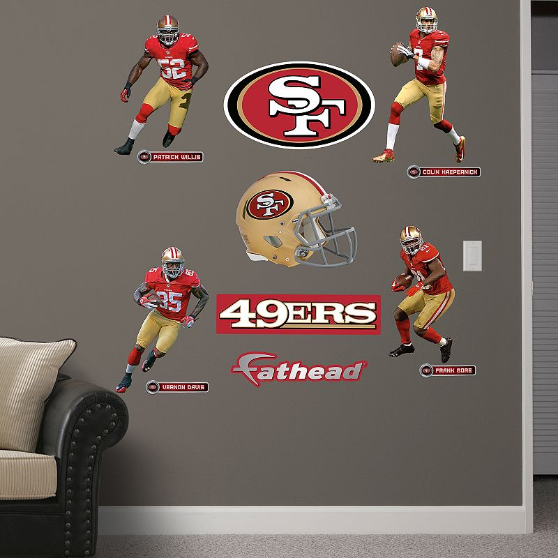 Fathead San Francisco 49ers Power Pack Wall Decals