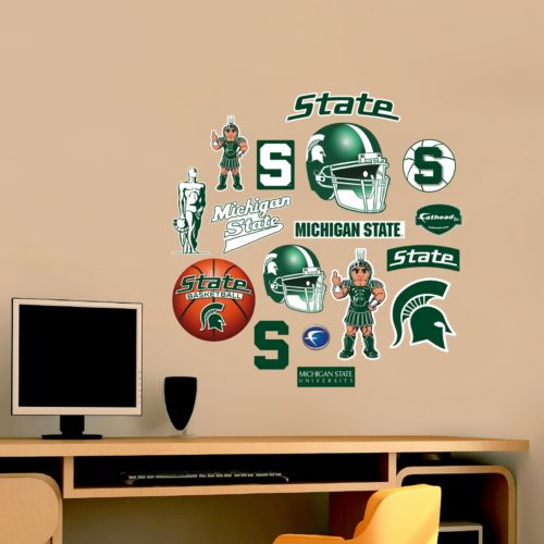 Fathead Michigan State Spartans Team Logo Assortment Wall Decals