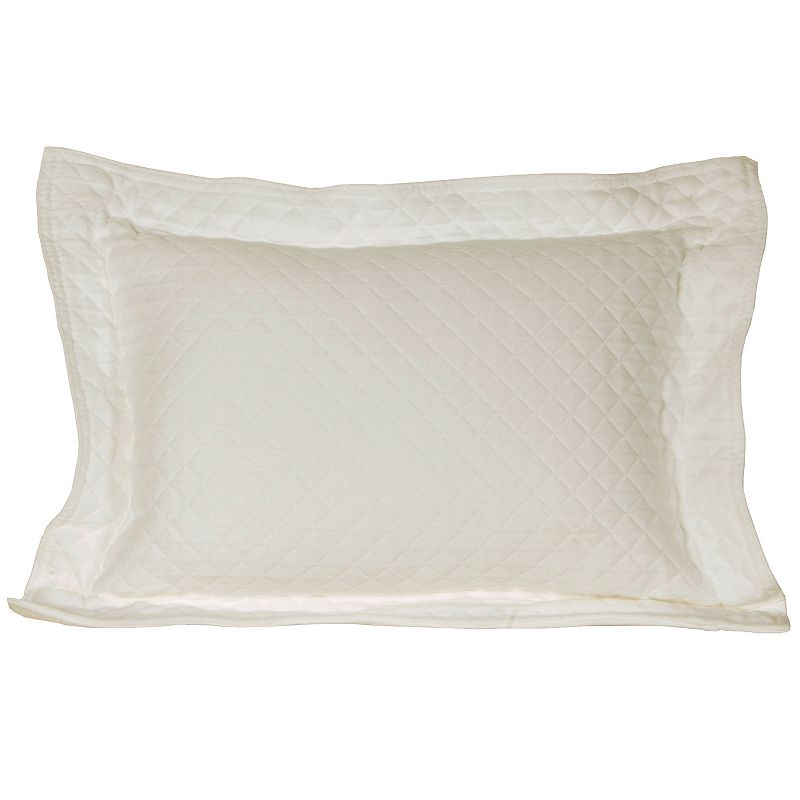 Diamond Matelasse Decorative Pillow