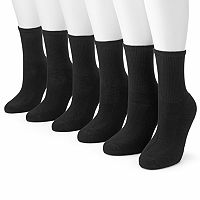 Tek Gear® 6-pk. Crew Socks