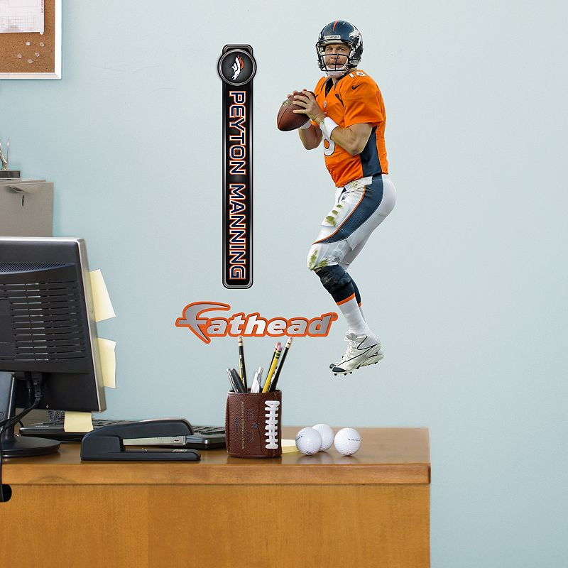 Fathead Jr. Denver Broncos Peyton Manning Wall Decals