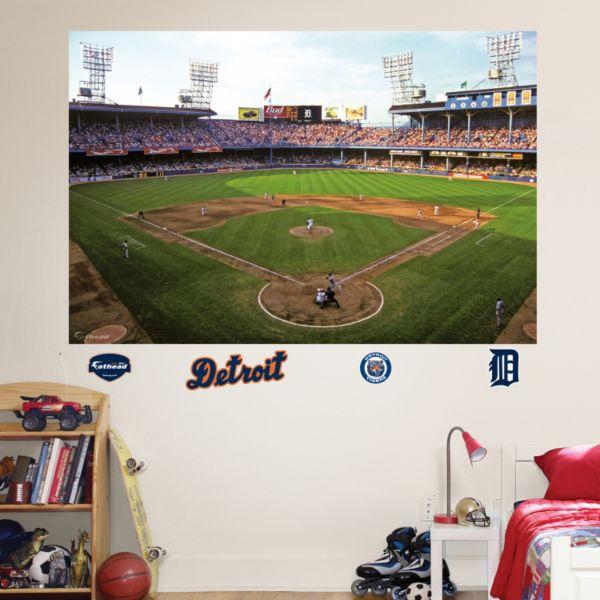 Fathead Detroit Tigers Stadium Mural Wall Decals