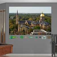 Fathead Notre Dame Fighting Irish Campus Mural Wall Decals